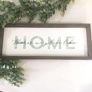 There's no place like home, rustic farmhouse style